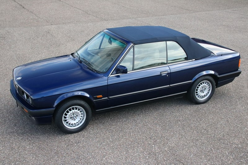 Te koop: BMW 320i E30 Cabriolet Manual '90 145.000km €17.950,-