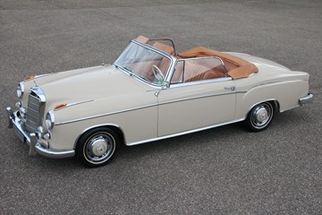 Mercedes Benz 220SE Ponton Convertible '60