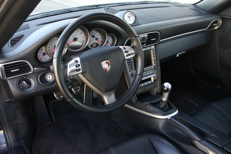Interieur Porsche 997 Turbo Coupe manual '06 53.000km btw-auto