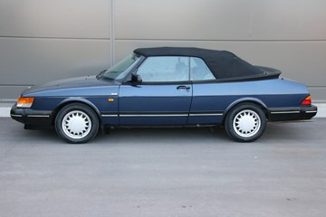 Saab 900 Cabriolet '91 Low Pressure Turbo 87.000km! €17.900,-
