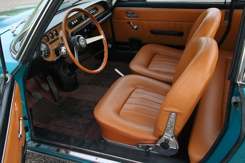 Interieur Lancia Fulvia Coupe Rally 1.3S '69 €23.950,-