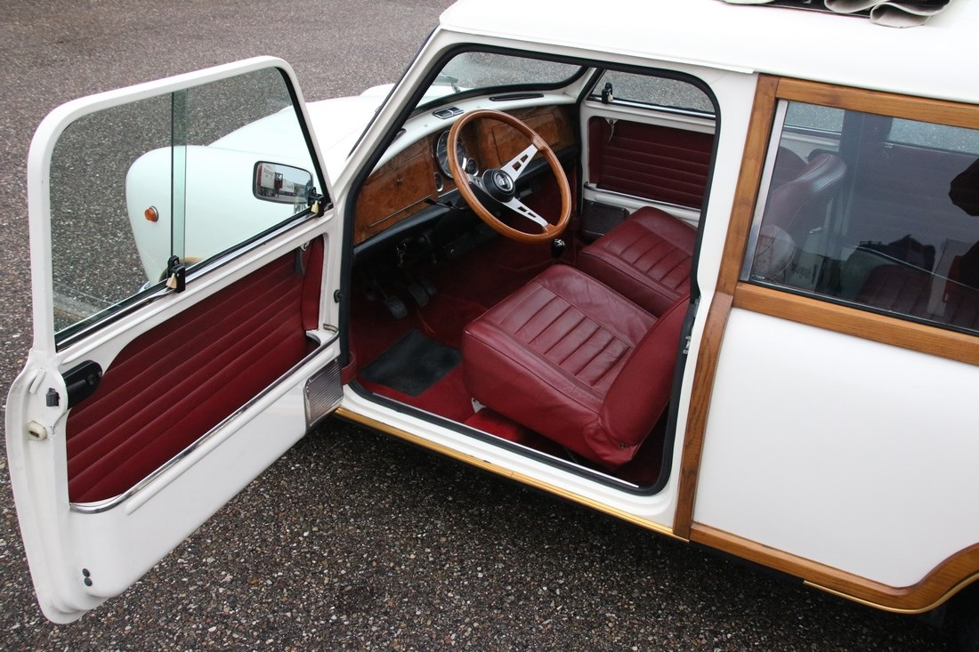 Interieur Mini Clubman Woody '67 €15.950,-