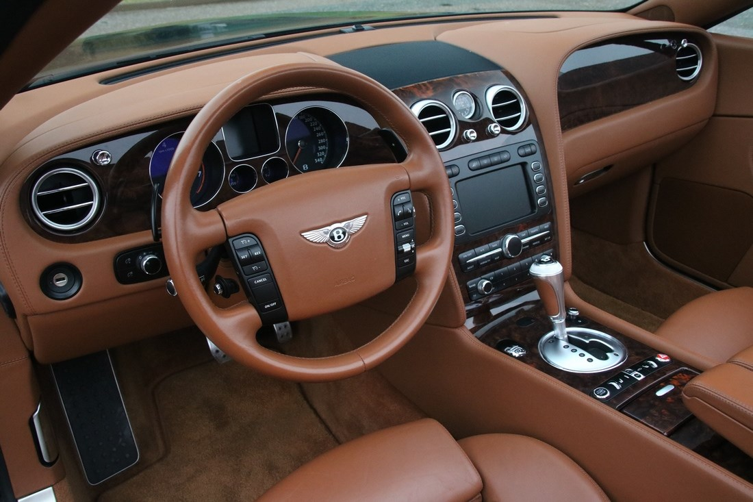 Interieur Bentley Continental GTC Mulliner '08 58.000km