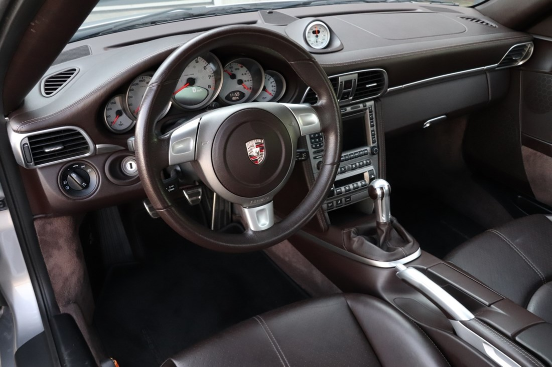 Interieur Porsche 997 Carrera S Coupe manual '09 90.000km