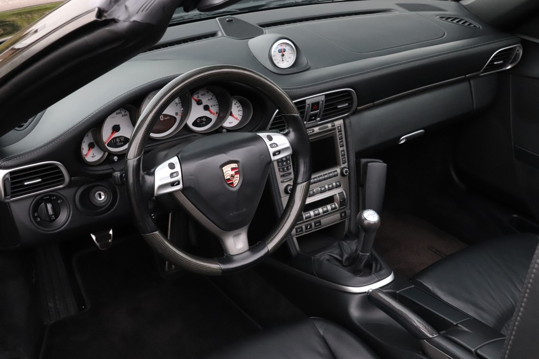 Interieur Porsche 997 Carrera S Cabriolet Manual '05