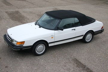 Saab 900 Cabriolet Low Pressure Turbo '91 82.000km €17.900,-