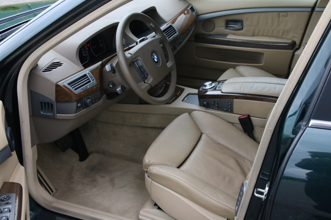 Interieur BMW 745iA Executive E65 '02 A1 conditie 129.000km €13.950,-