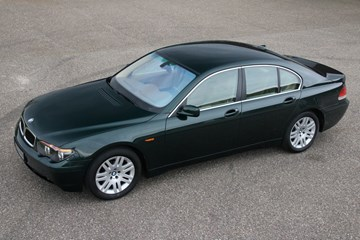 BMW 745iA Executive E65 '02 A1 conditie 129.000km €13.950,-
