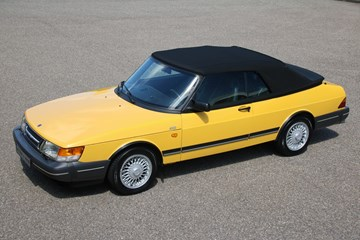 Saab 900 Cabriolet Low Pressure Turbo '92 68.000km 1st paint €19.900,-