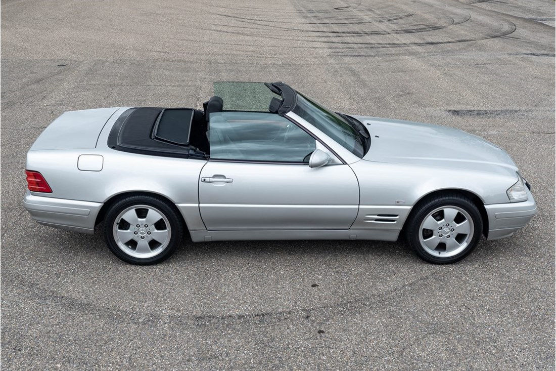Exterieur Mercedes Benz 320SL R129 Final Edition '99 55.000km €29.950,-