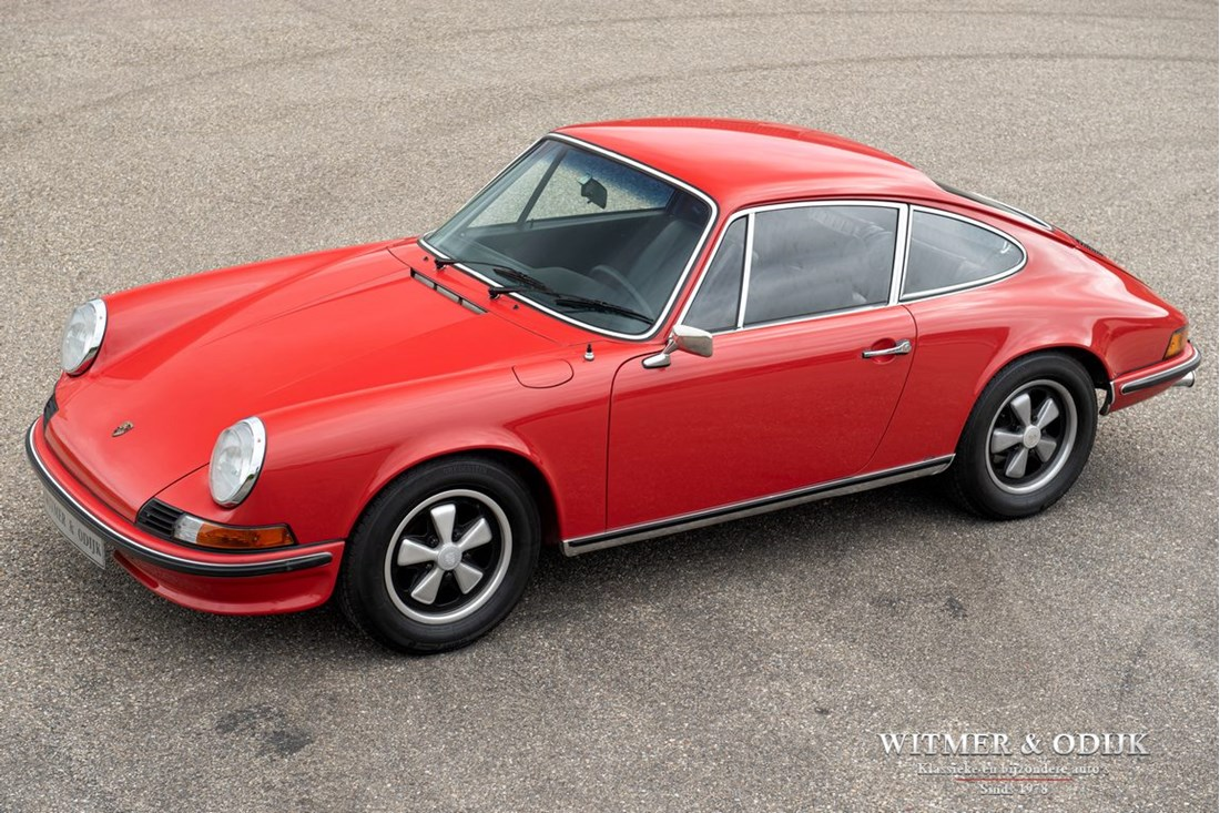 For sale: Porsche 911 2.4 T CIS Coupe '73 Matching numbers, first paint €89.911,-