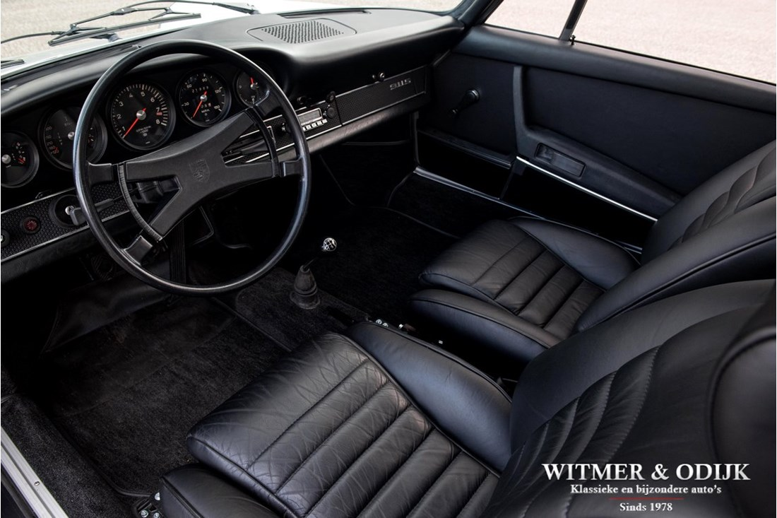 Interieur Porsche 911 2.2 S Coupe '71 volledig gerestaureerd matching numbers
