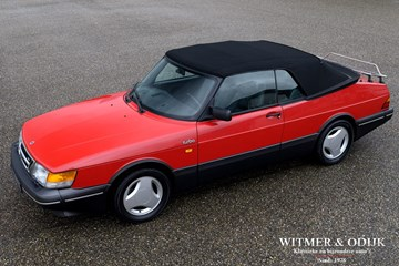 Saab 900 Cabriolet Aero Full Turbo '90 first paint, wholly original 113.000km €21.900,-