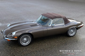 Jaguar E-type Roadster Series III V12 '74 Superb €99.950,-