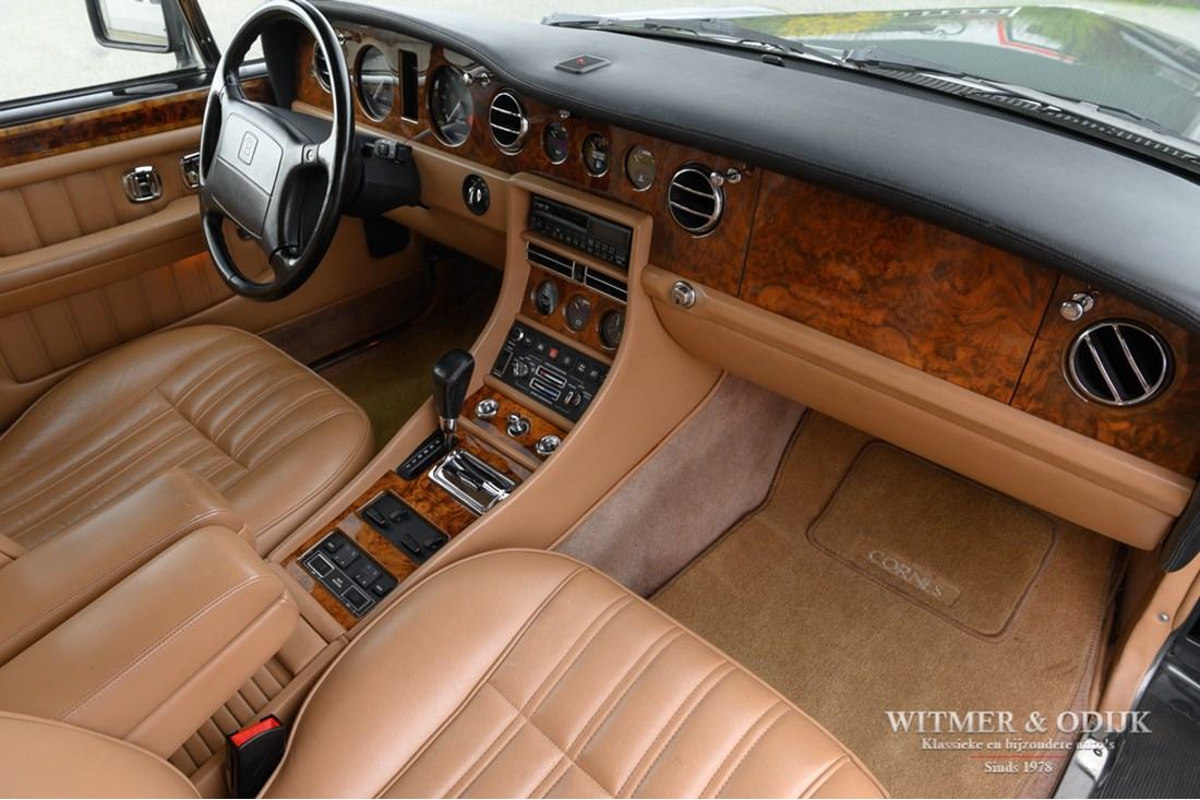 Interieur Bentley Brooklands '94 topconditie 106.000km €19.950,-