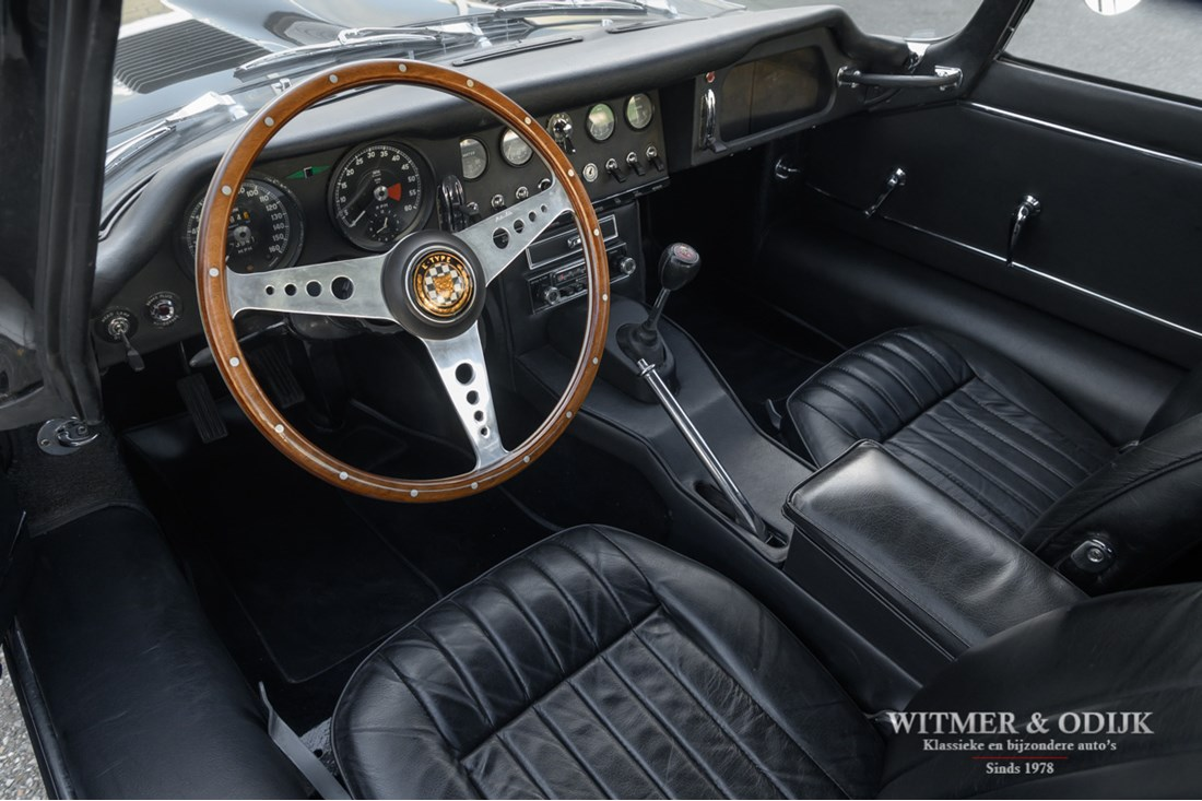 Interieur Jaguar E type Series I 4.2 Coupe origineel '65 €99.500,-