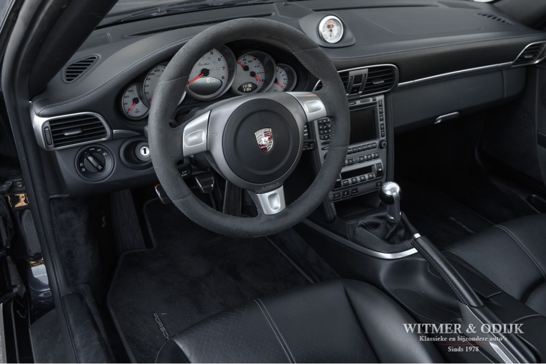 Interieur Porsche 997 Turbo Coupe Manual '07 NL-auto €75.997,-