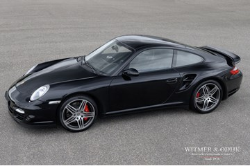 Porsche 997 Turbo Coupe Manual '07 NL-car
