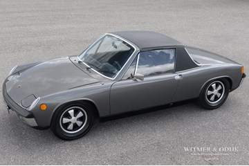 Porsche 914/6 matching numbers, rebuilt engine '70 €69.914,-
