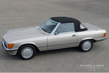 Mercedes Benz 560SL Roadster '87 127.000km €34.950,-