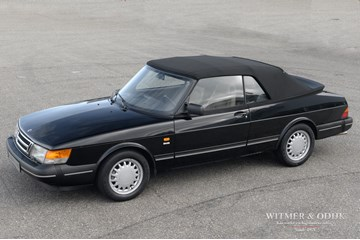 Saab 900 Turbo Convertible top condition '92 146.000km €19.900,-