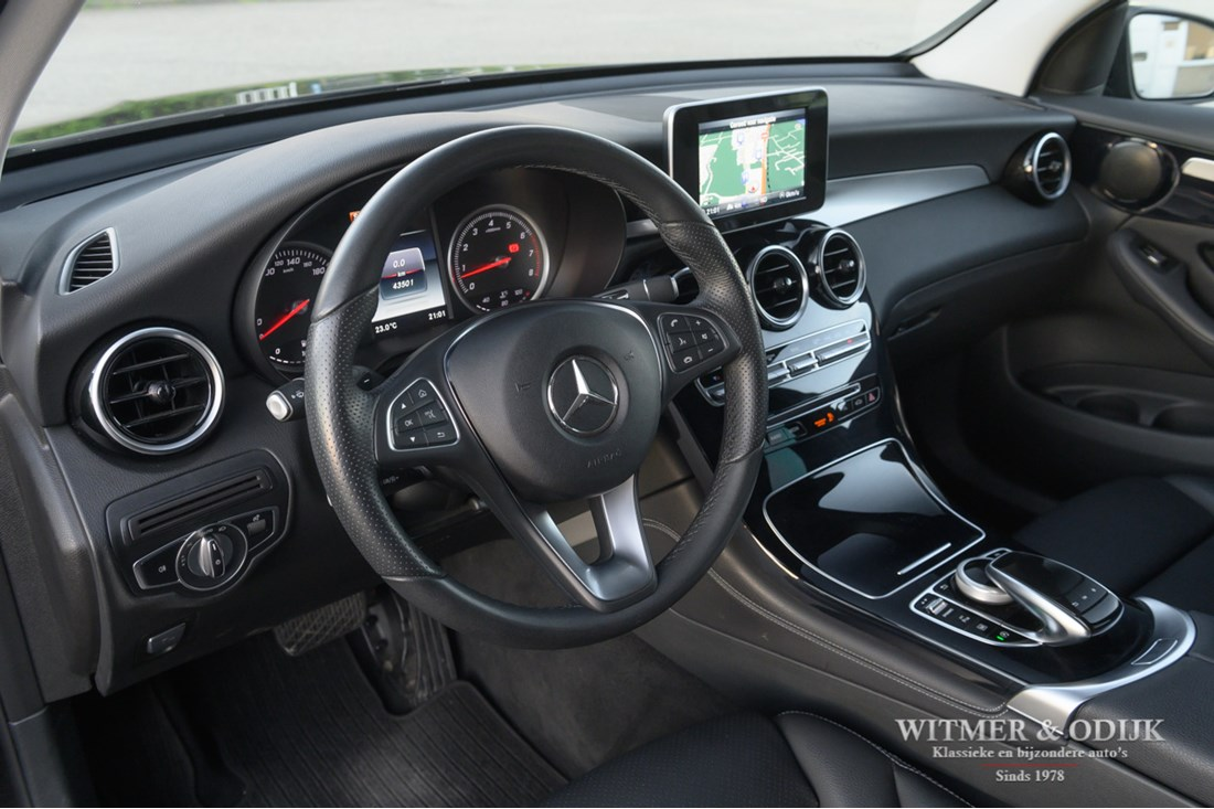 Interieur Mercedes Benz 250 GLC 4-MATIC '17 1e eig. 43.000km