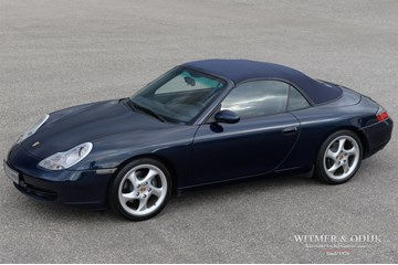 Porsche 996 Carrera 2 Cabriolet manual '00