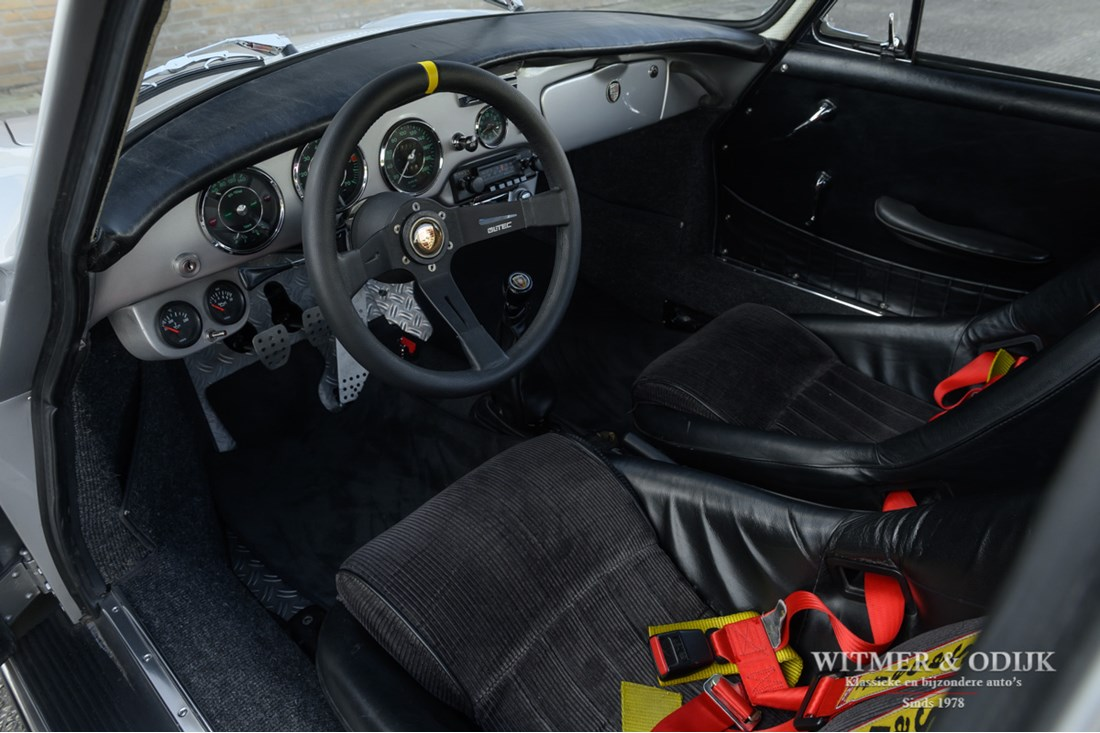 Interieur Porsche 356 SC Coupe top restauratie, NL rally kampioen, '65
