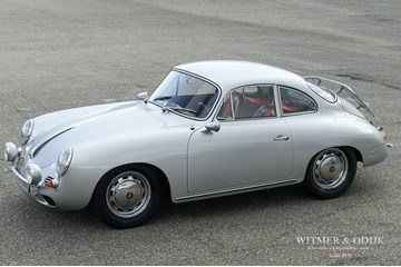 Porsche 356 SC Coupe top restoration, NL rally champion, '65 €99.950,-
