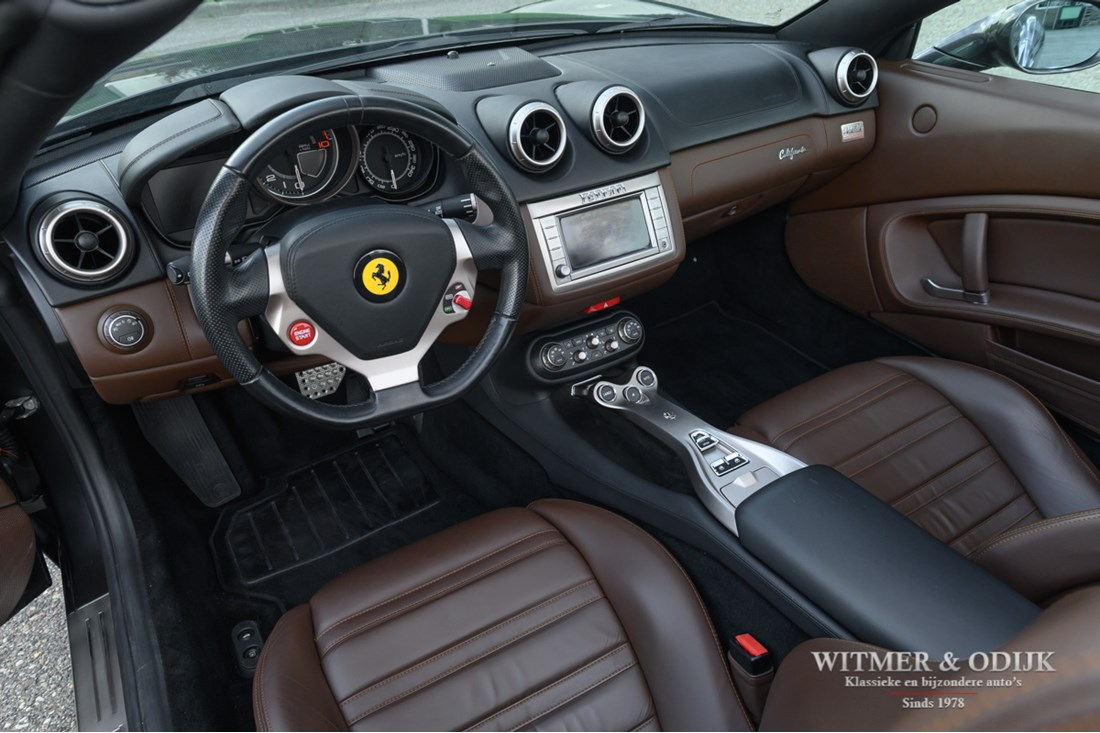 Interieur Ferrari California 4.3 V8 '09 78.000km €89.950,-