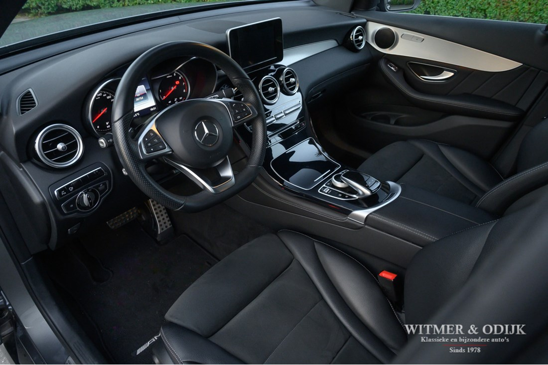 Interieur Mercedes Benz 250 GLC 4-MATIC AMG Line '16 38.000km
