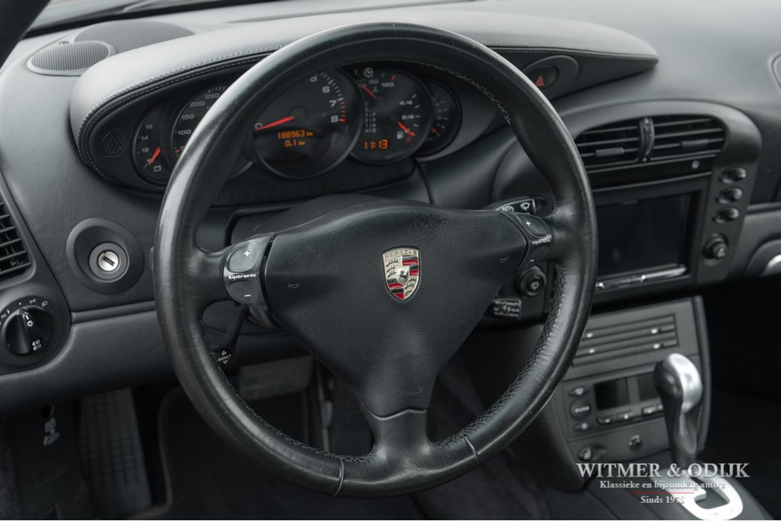 Interieur Porsche 996 Carrera 4S Coupe Tiptronic '03 gemodificeerd €32.996,-