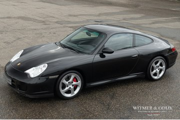Porsche 996 Carrera 4S Coupe Tiptronic '03 gemodificeerd €32.996,-