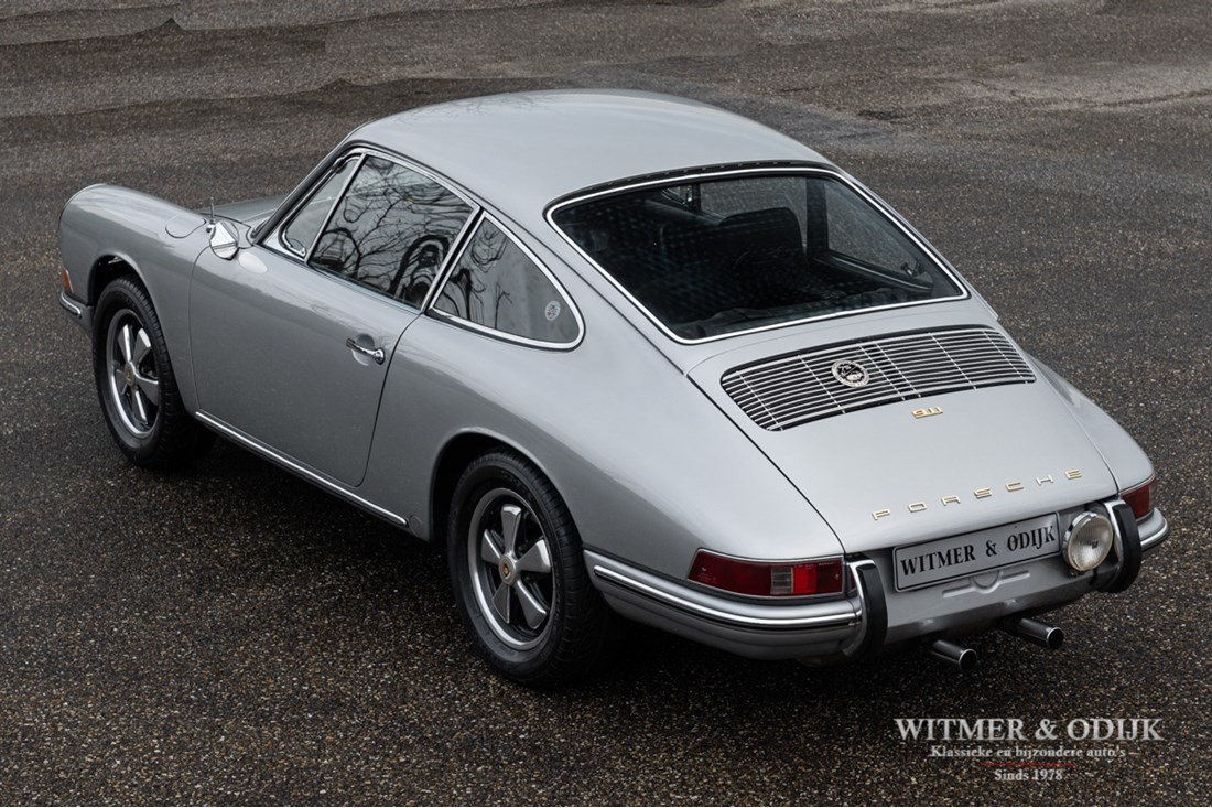 Exterieur Porsche 911 Coupe Short Wheel Base 210hp Upgraded engine '67 €99.911,- matching numbers