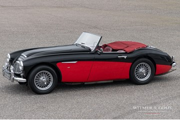 Austin Healey 3000 MkI '59 restored to concours condition €72.950,-