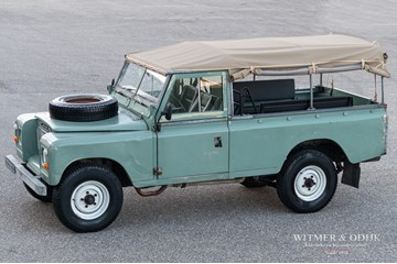 Land Rover 109 Series III large softtop '78 benzine