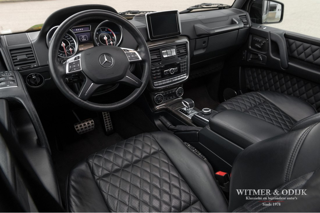 Interieur Mercedes Benz G63 AMG '15 44.000km €114.950,-