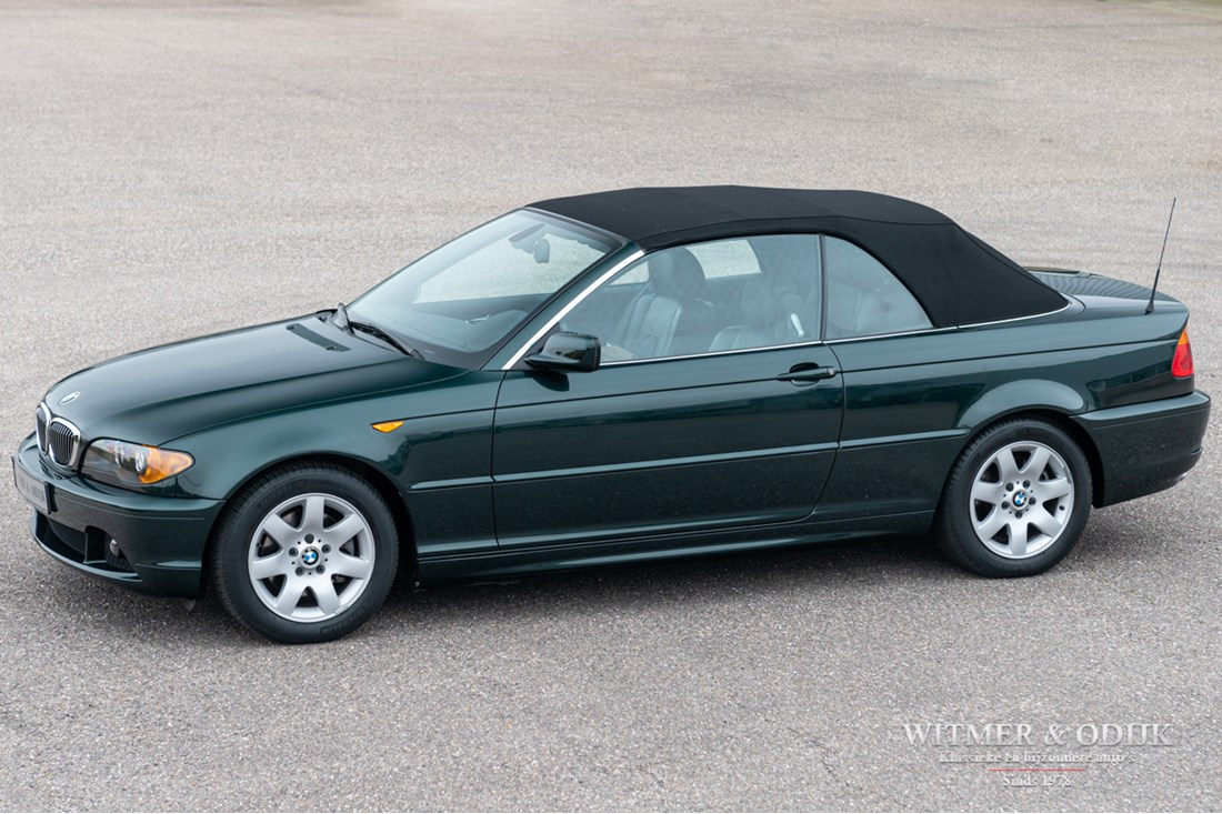 For sale: BMW 320Ci Cabriolet Automaat '03 76.000km €15.950,-