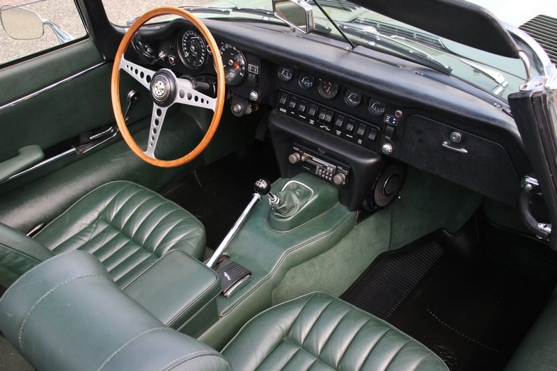Interieur Jaguar E type Series II Roadster '70 €89.950,-
