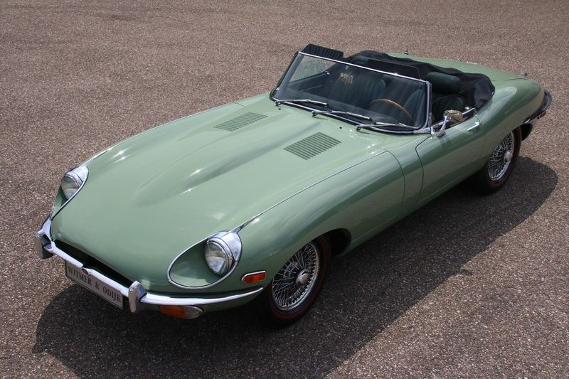 Exterieur Jaguar E type Series II Roadster '70 €89.950,-