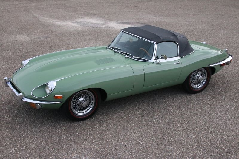 Te koop: Jaguar E type Series II Roadster '70 €89.950,-