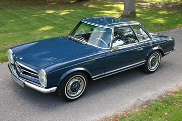 Mercedes Benz 250SL Pagode Automatic '68 fully restored €92.950,-