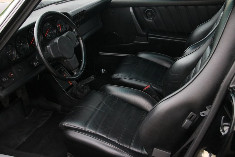 Interieur Porsche 930 Turbo Coupe '84 72.000km €99.930,-
