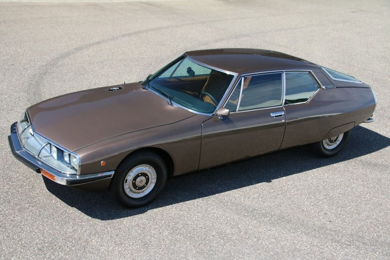 For sale: Citroën SM Injection '74 modified €52,950,-