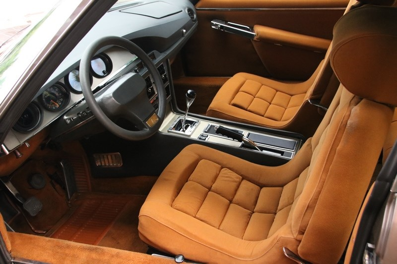 Interieur Citroën SM Injection '74 modified €52,950,-