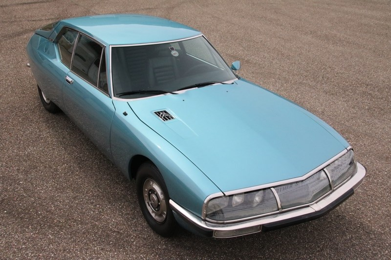 Exterieur Citroen SM Carburateur '72 gemodificeerd €52.950,-