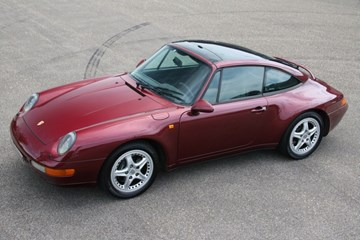 Porsche 993 Targa Manual '97
