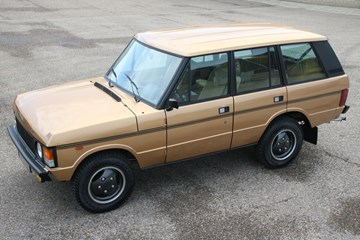 Range Rover Classic '84 'outstanding' €29.950,-