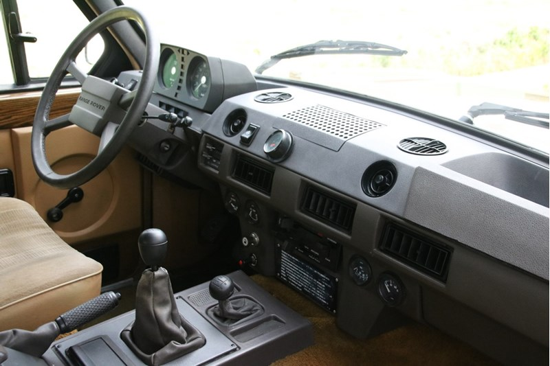 Interieur Range Rover Classic '84 'outstanding' €29.950,-