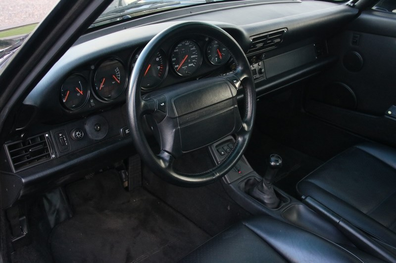 Interieur Porsche 964 Carrera 2 Coupe Manual '91 manual 198.000km €53.964,-